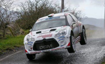 Liste engages Isle of Man Rally 2016