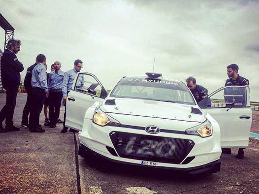 Premier test Clients Hyundai i20 R5