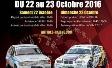 Rallye Alpes d'Azur St Laurent 2016
