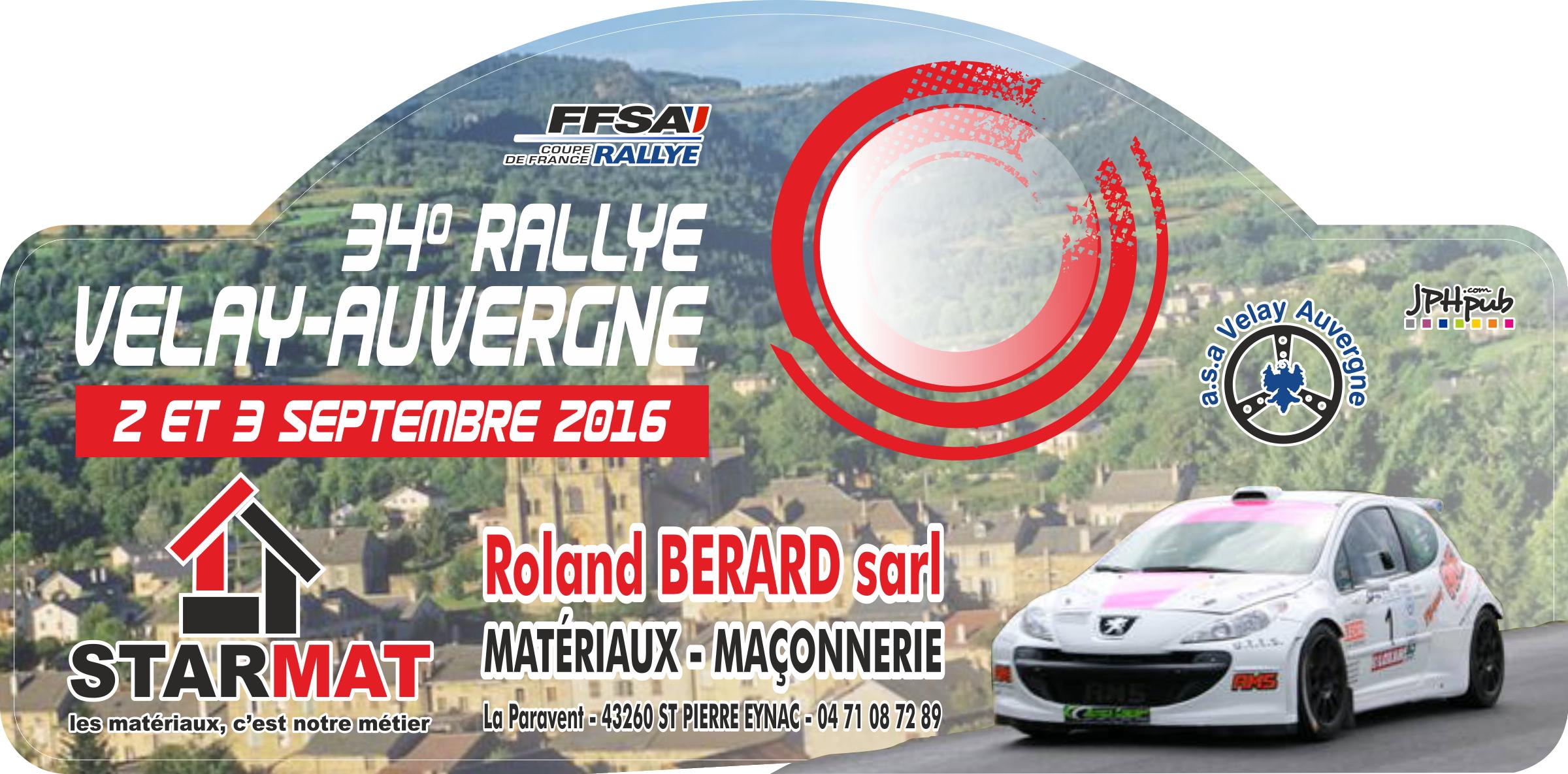 Rallye velay auvergne