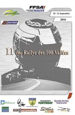 Rallye des 100 Vallees 2016