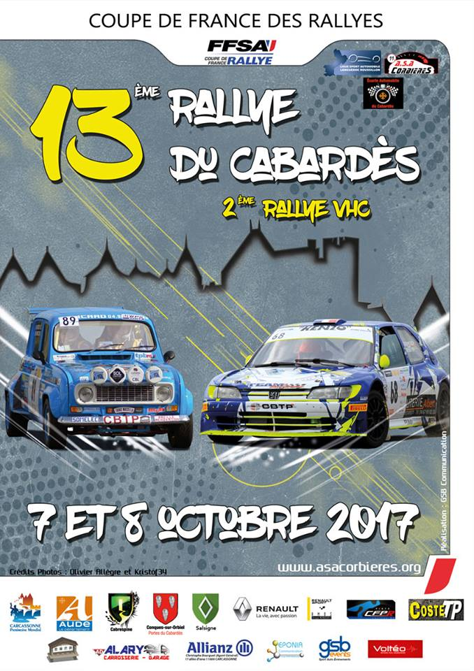 liste des engag s rallye du cabardes 2017. Black Bedroom Furniture Sets. Home Design Ideas