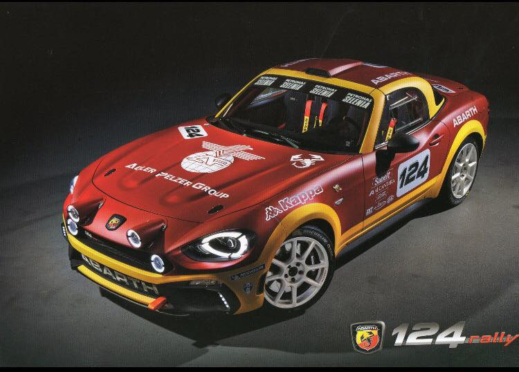 L'Abarth 124 Rally aux mains de Delecour