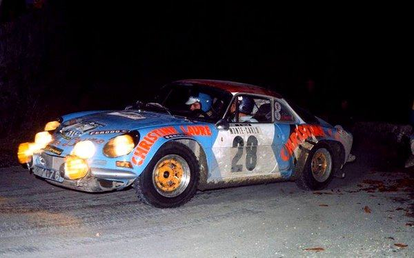 Jacques Henry - Monte-Carlo 1975 - Alpine Renault A110 Groupe 4
