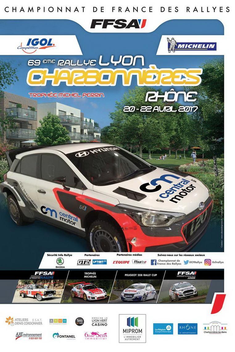 Liste des engag s rallye lyon charbonni res vhc 2017 - Calendrier coupe de france des rallyes 2015 ...
