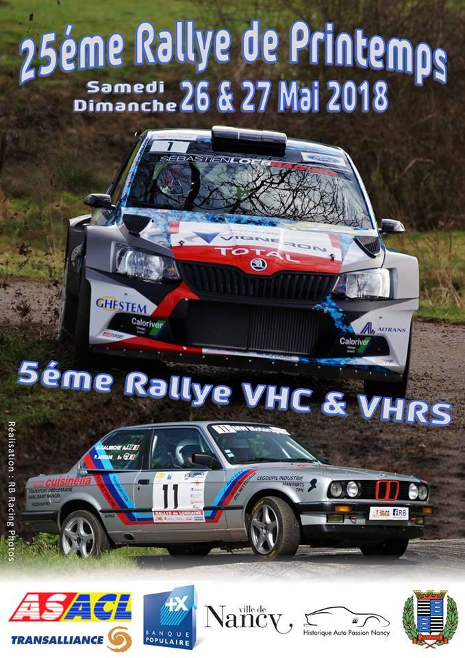Rallye lorraine 2018