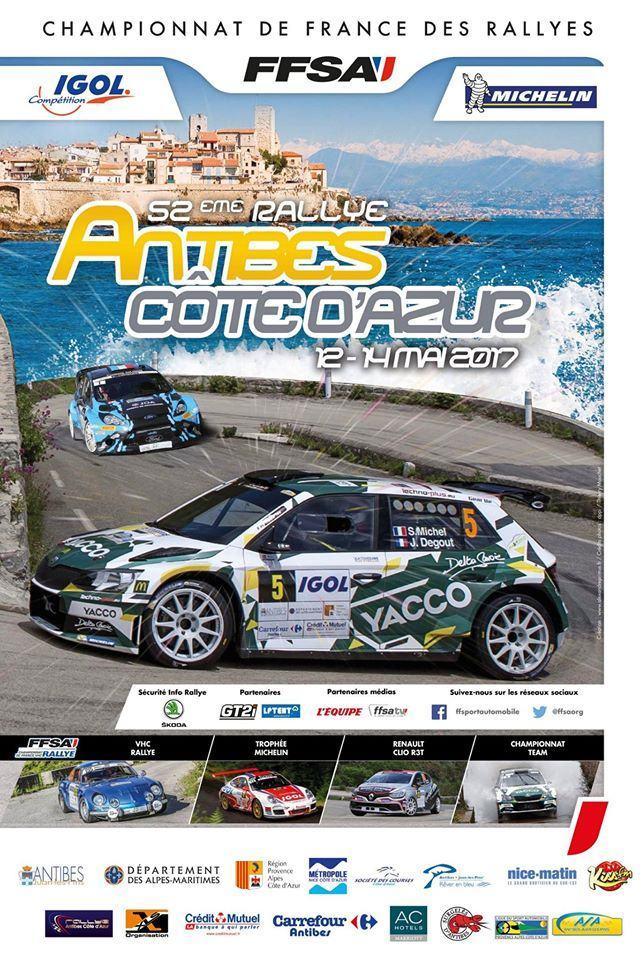 Rallye d'antibes 2017