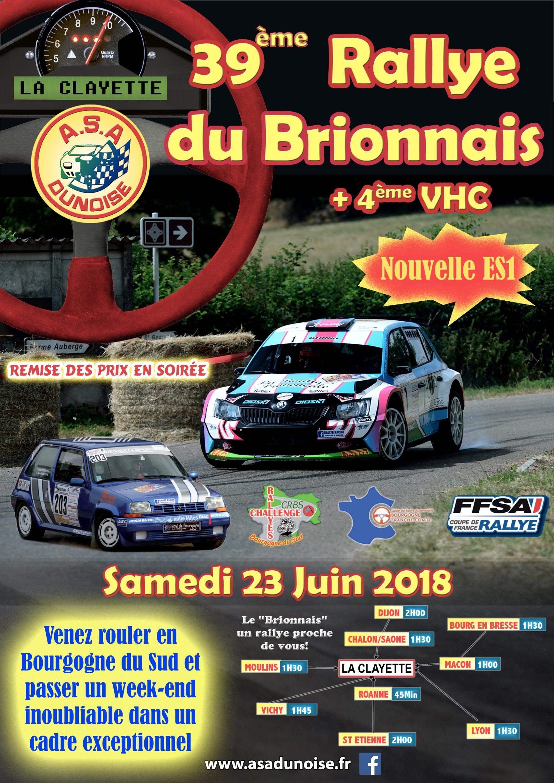 Rallye brionnais 2018