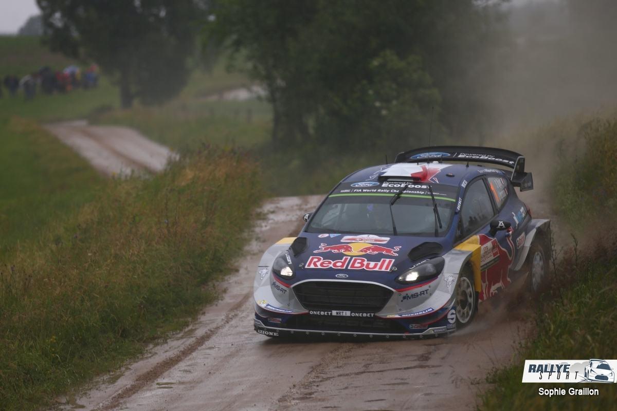 Séb' Ogier ne reprendra pas le rallye ce samedi — Rallye de Finlande