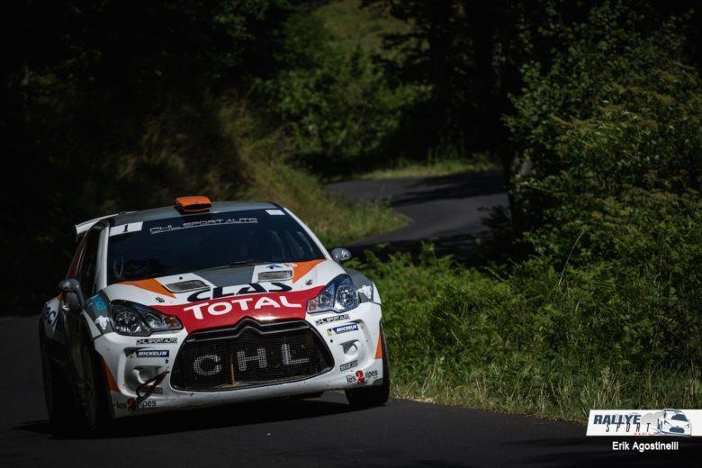 Yoann Bonato Rallye du Rouergue 2017