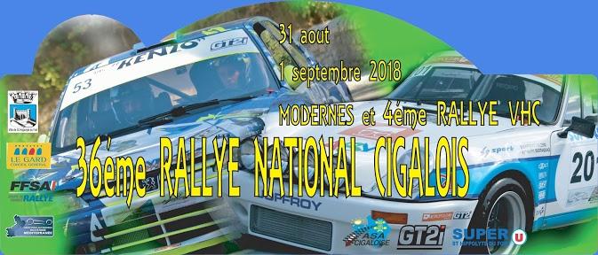 Rallye 31 aout 2018