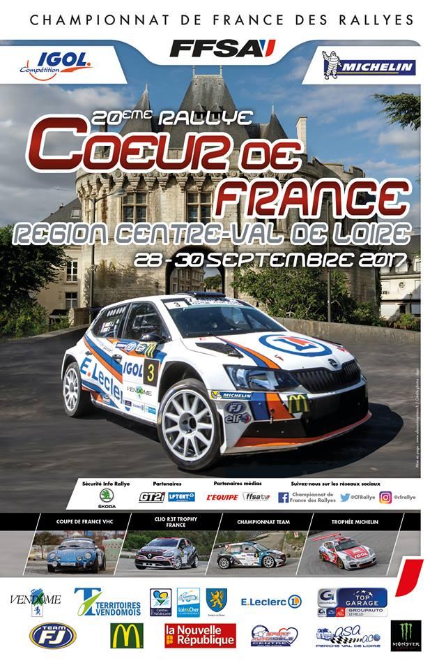 Classement direct rallye du coeur de france 2017 - Calendrier coupe de france des rallyes ...