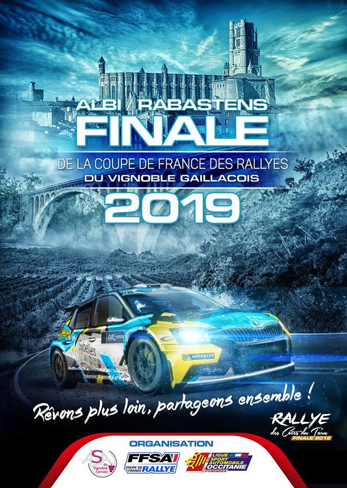 Les c tes du tarn au menu de la finale 2019 - Calendrier coupe de france des rallyes ...