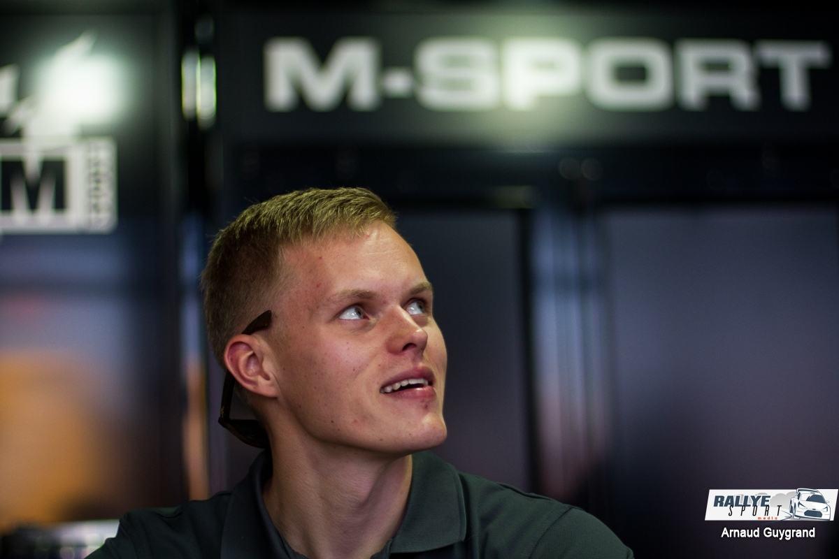 Ott Tänak va quitter M-Sport pour Toyota en 2018