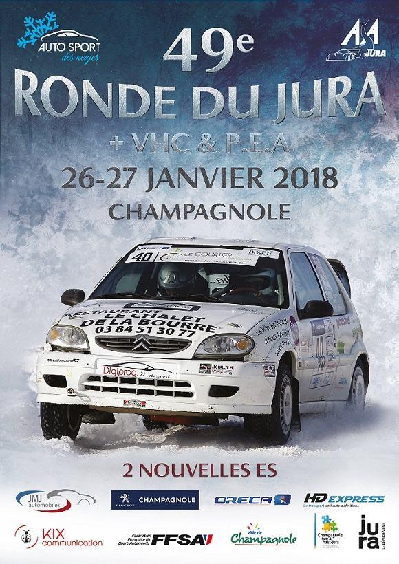 Rallye jura 2018