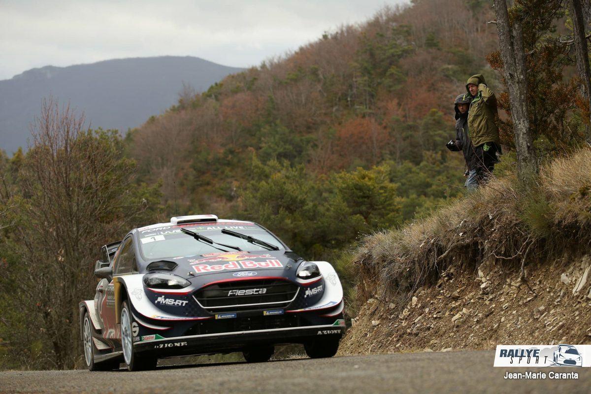 WRC, Ogier chanceux et premier leader du Rallye Monte-Carlo !