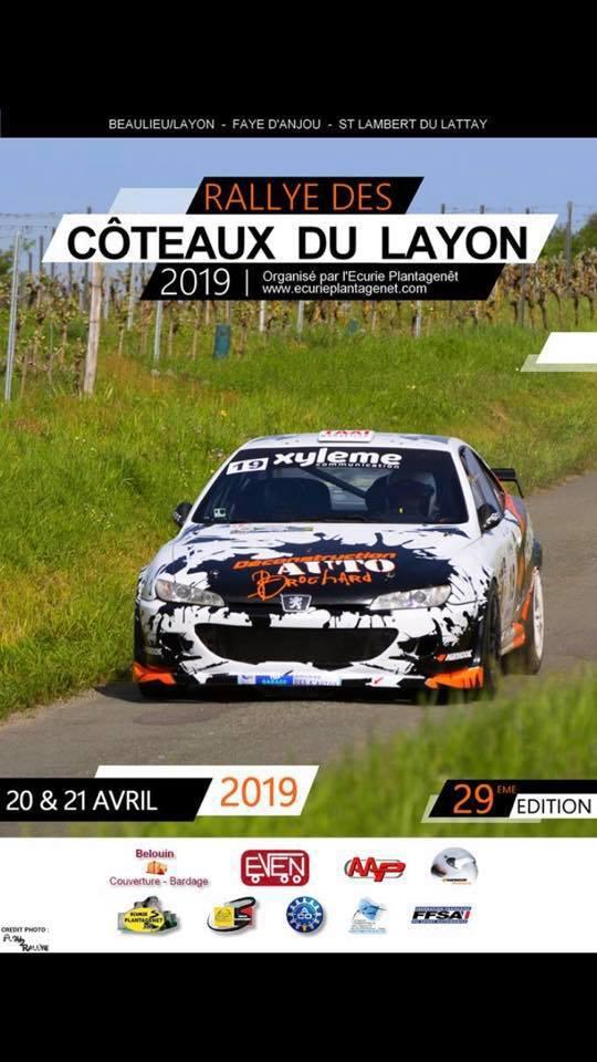 Rallye des C  teaux du Layon 2019