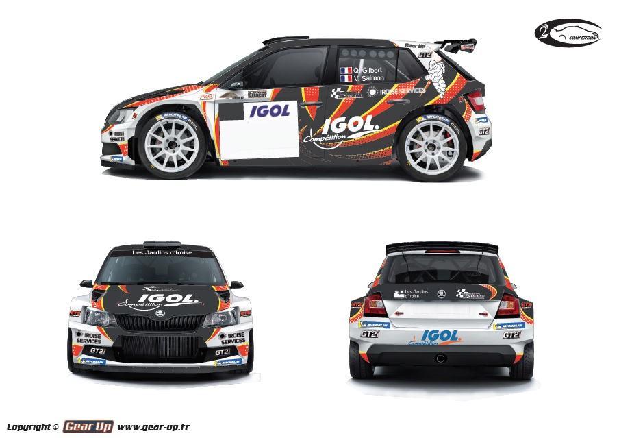 quentin gilbert en championnat de france des rallyes 2018 avec 2c comp tition. Black Bedroom Furniture Sets. Home Design Ideas