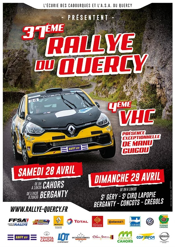 rallye du quercy 2018. Black Bedroom Furniture Sets. Home Design Ideas