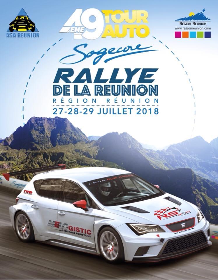 Rallye 974 tour auto 2018