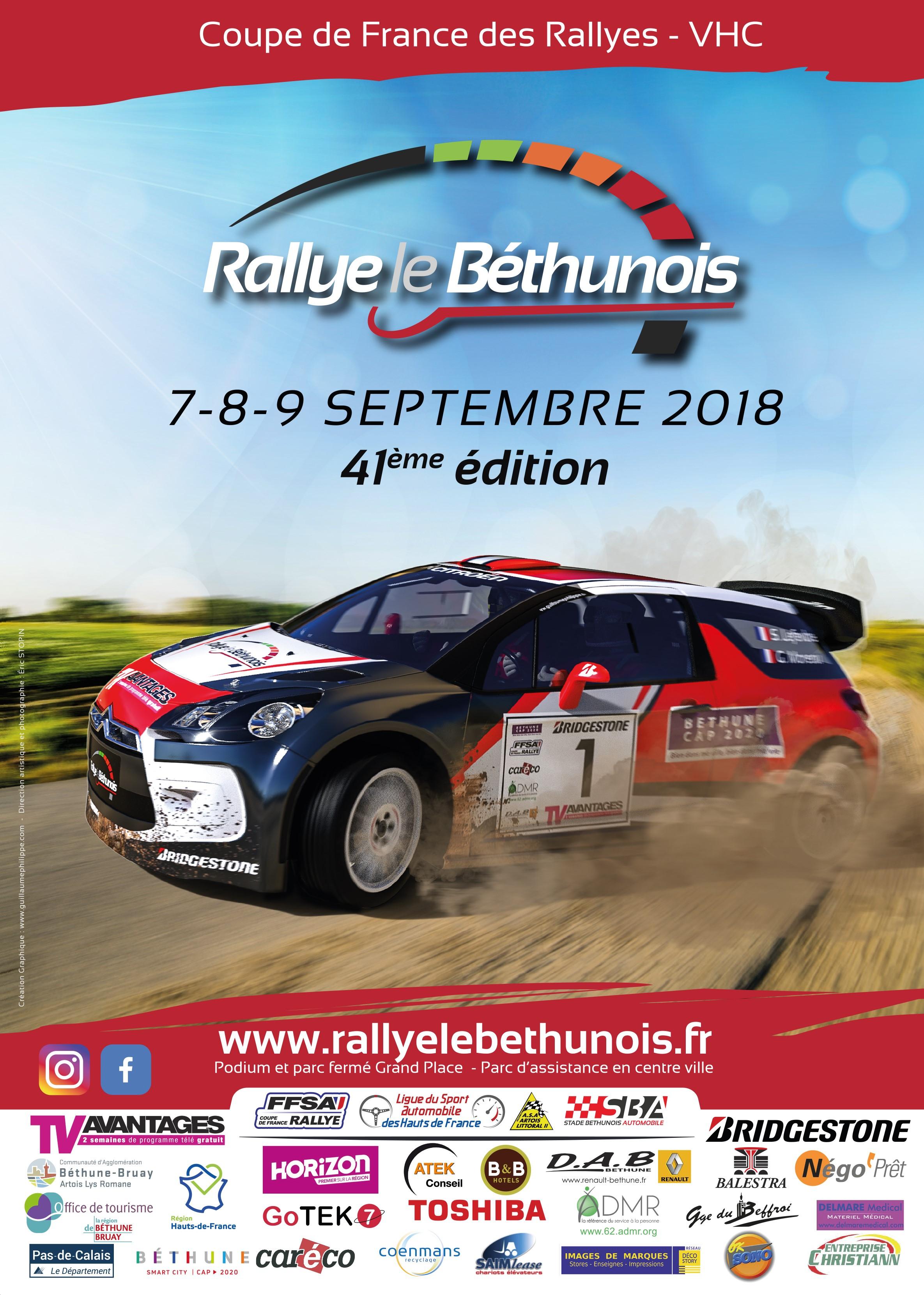 Rallye 9 septembre 2018 belgique