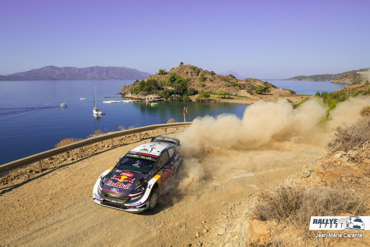 WRC RALLYE  RALLYE DE TURQUIE (terre)13-16 Septembre Evans-Turquie-2018