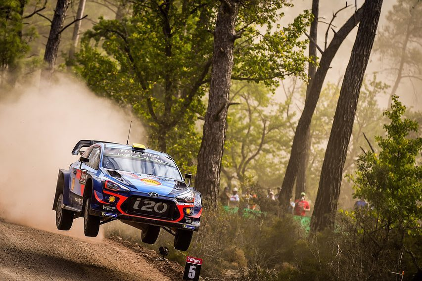 WRC RALLYE  RALLYE DE TURQUIE (terre)13-16 Septembre Mikkelsen-Turquie-2018