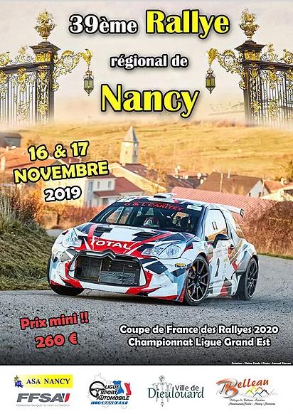 Calendrier Coupe De France Des Rallyes 2020.Rallye De Nancy 2019