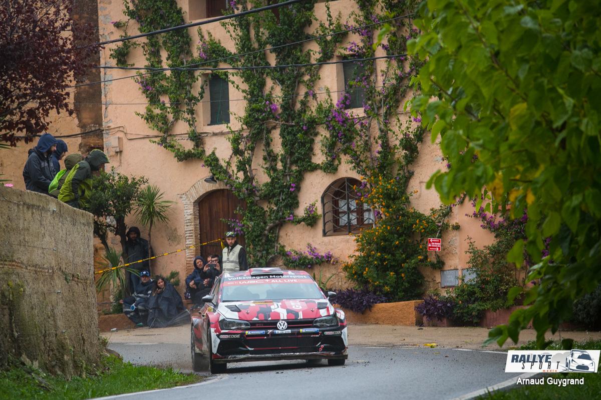Sébastien Ogier remporte la première spéciale ce jeudi — Rallye de Monza
