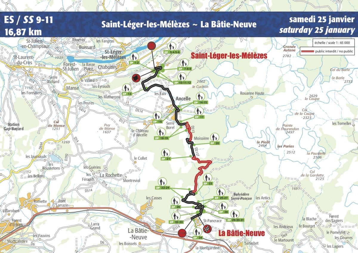 carte monte carlo 2020 Guide ES9 ES11 (Rallye Monte Carlo 2020)