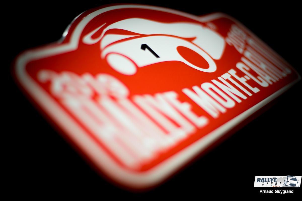 Le crash impressionnant de l'Estonien Tänak — Rallye Monte-Carlo