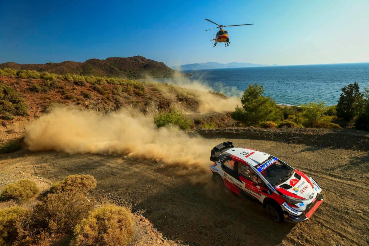 Ogier succède à Loeb en tête — Rallye Turquie